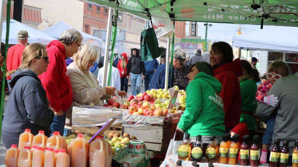 Ottawa County Oak Harbor Apple Festival 2018 image vendor apples orchard local