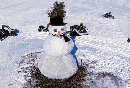 Burning Snowman Festival Lake Erie Shores & Islands Port Clinton Ohio winter