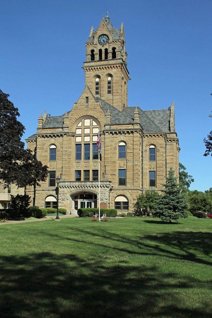 The Ottawa County Courthouse Port Clinton Ohio