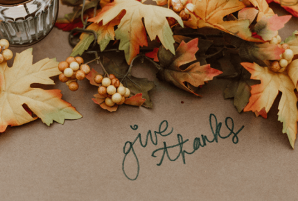 25 Things to be Thankful for in Ottawa County Thanksgiving give thanks
