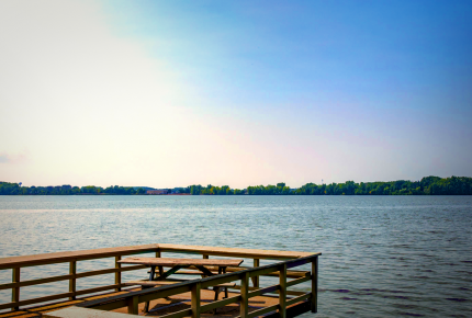 Marblehead Ohio View of Lake Erie